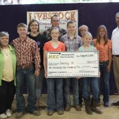 Dickinson County 4-H Donation
