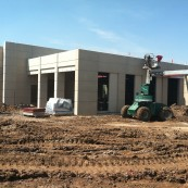Construction Continues at the Kansas Wheat Innovation Center.