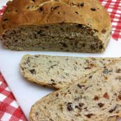 Hearty Wild Rice 'N Tart Cherry Bread