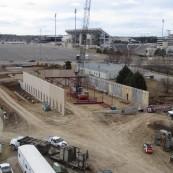 Construction begins at the Kansas Wheat Innovation Center.