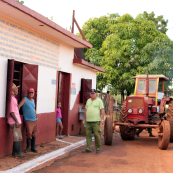 Photo: Farmer Cooperative in Cuba.