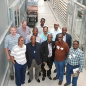 The KWIC gives us the opportunity to host trade teams with important export partners. This Nigerian Trade Team was the first to tour the facility.