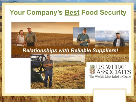 """U.S. Wheat Associates (USW) President Alan Tracy proposed an initiative to provide """"genuine food security to the world's wheat importers"""" by fully liberalizing global wheat trade."""