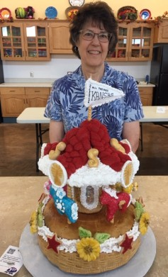 Wilma Olds, Wilson, winner of the Bread Sculpture Contest