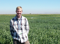 Dr. Jesse Poland is an assistant professor of agronomy at Kansas State University, associate director of the Wheat Genetics Resource Center and director of the Feed the Future Innovation Lab for Applied Wheat Genomics.