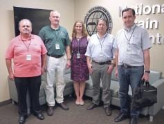 Peruvian trade team tour of the USDA National Grain Center, Kansas City, Mo.