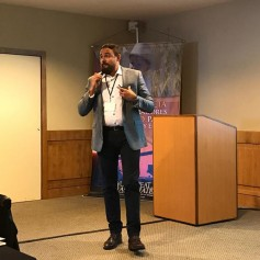 Romulo Lollato, assistant professor at Kansas State University spoke on The Role of Agricultural Extension on Wheat Quality: A Case Study For Hard Red Winter, at the 2018 Latin American and Caribbean Buyers Conference.